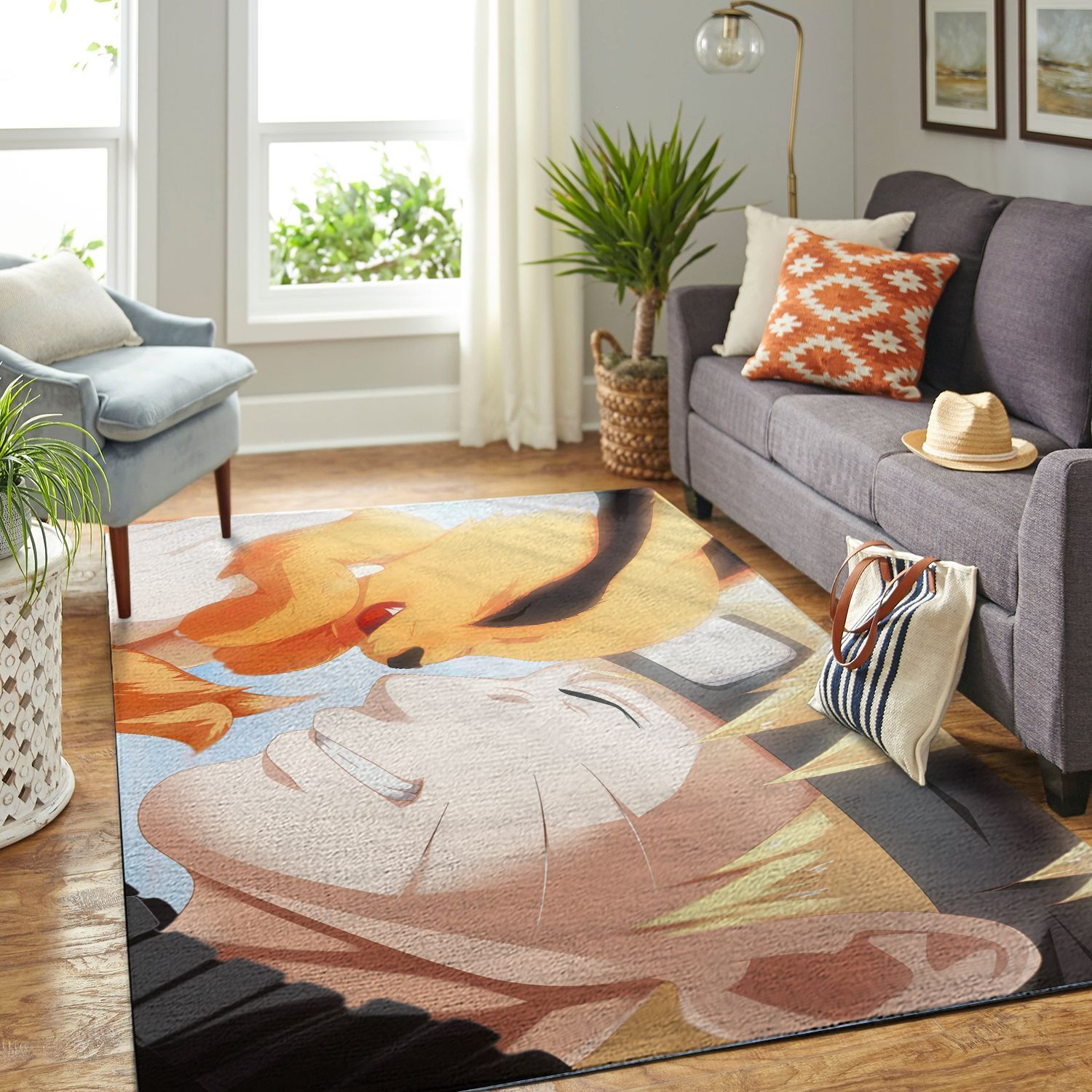 Amazon Naruto Themed Living Room Area No6359 Rug