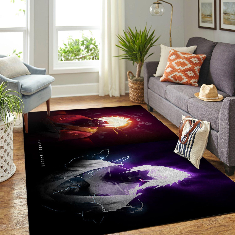 Amazon Naruto Themed Living Room Area No6361 Rug