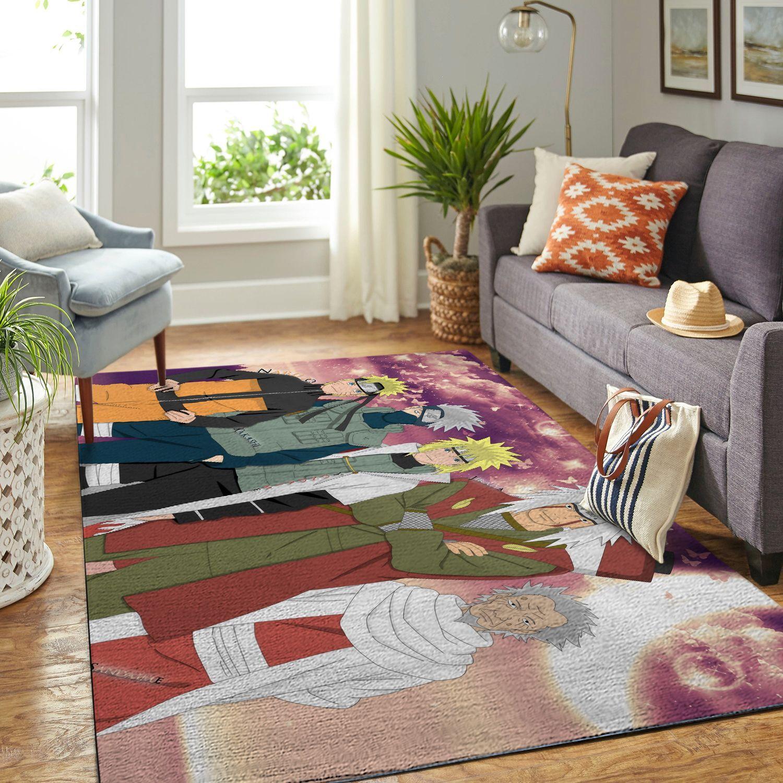 Amazon Naruto Themed Living Room Area No6362 Rug