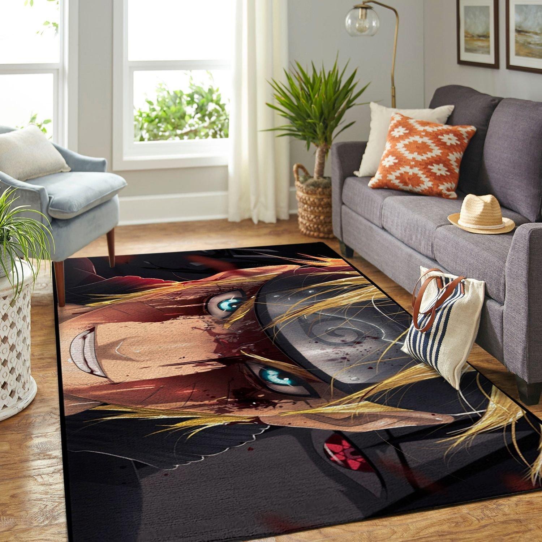 Amazon Naruto Themed Living Room Area No6367 Rug