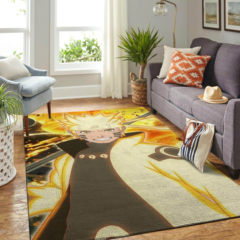 Amazon Naruto Themed Living Room Area No6371 Rug
