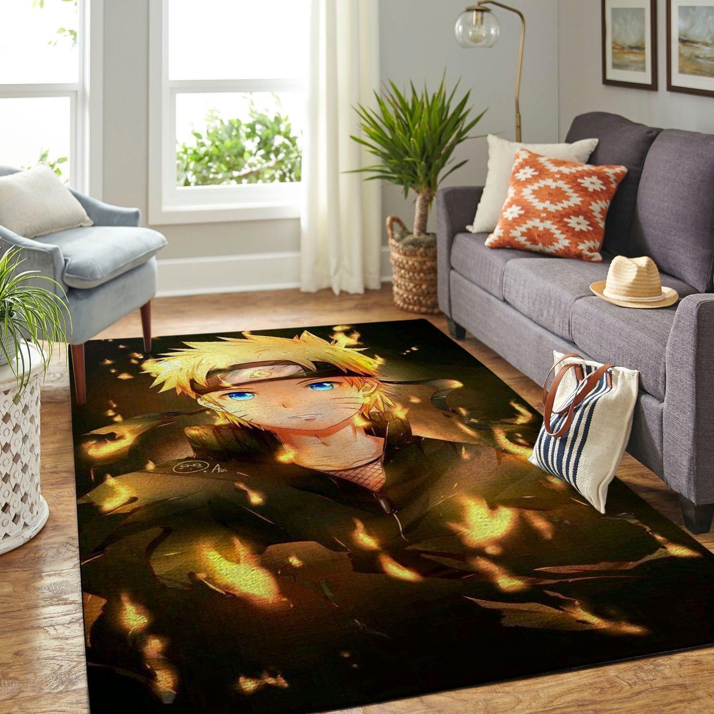 Amazon Naruto Themed Living Room Area No6372 Rug