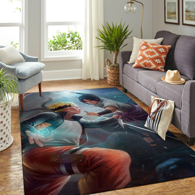 Amazon Naruto Themed Living Room Area No6374 Rug