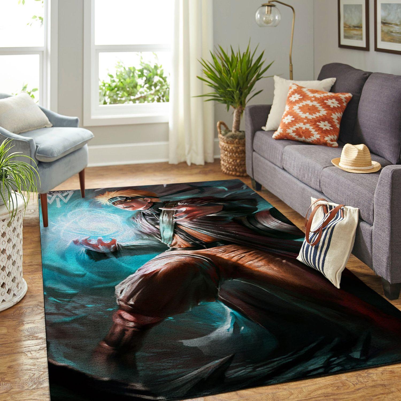 Amazon Naruto Themed Living Room Area No6376 Rug