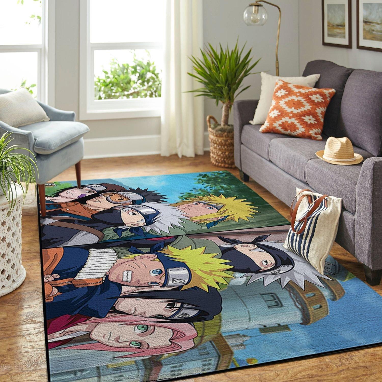 Amazon Naruto Themed Living Room Area No6377 Rug