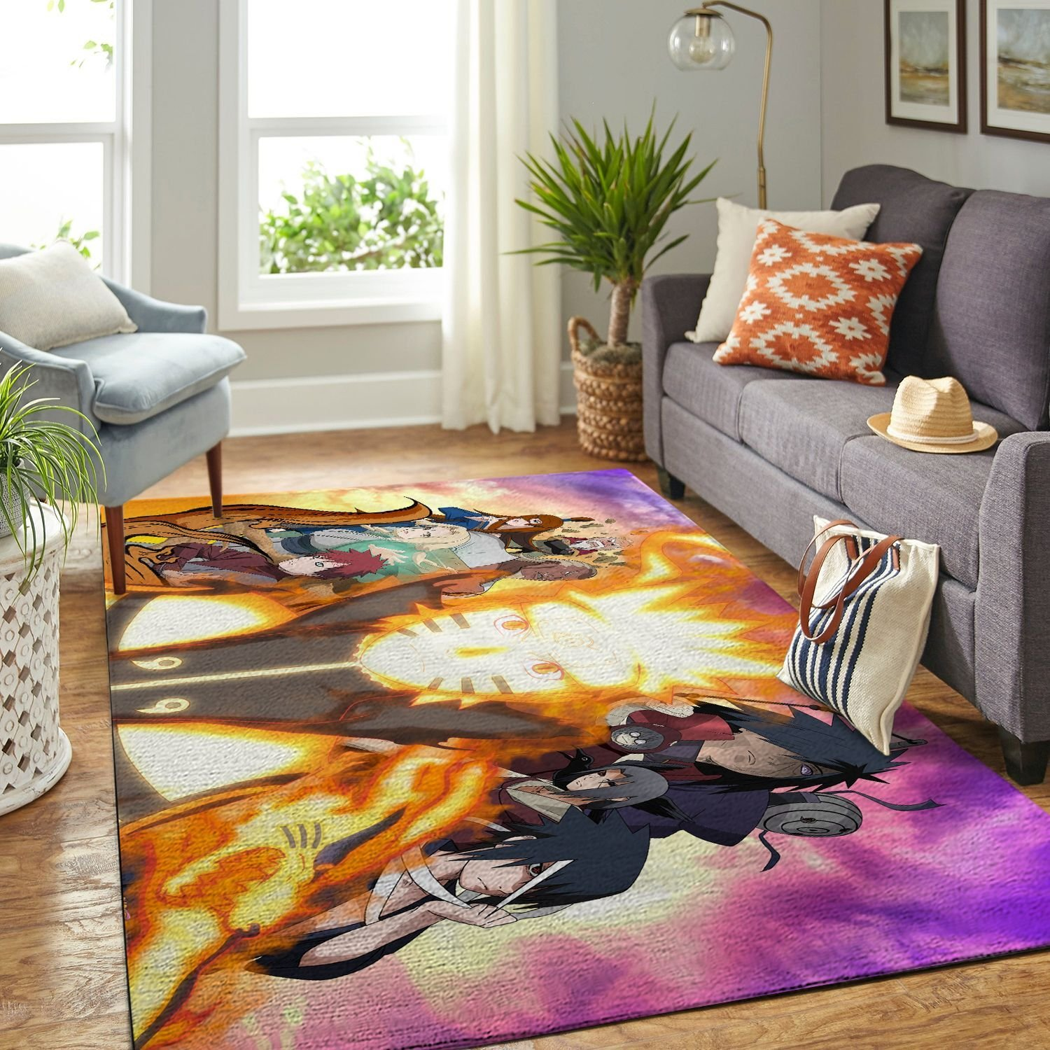 Amazon Naruto Themed Living Room Area No6386 Rug