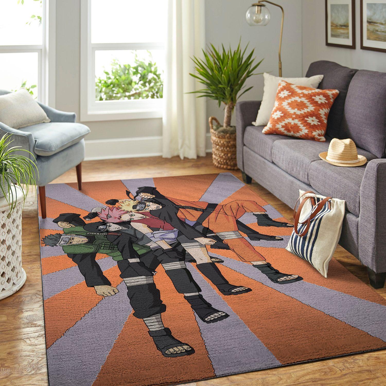 Amazon Naruto Themed Living Room Area No6390 Rug
