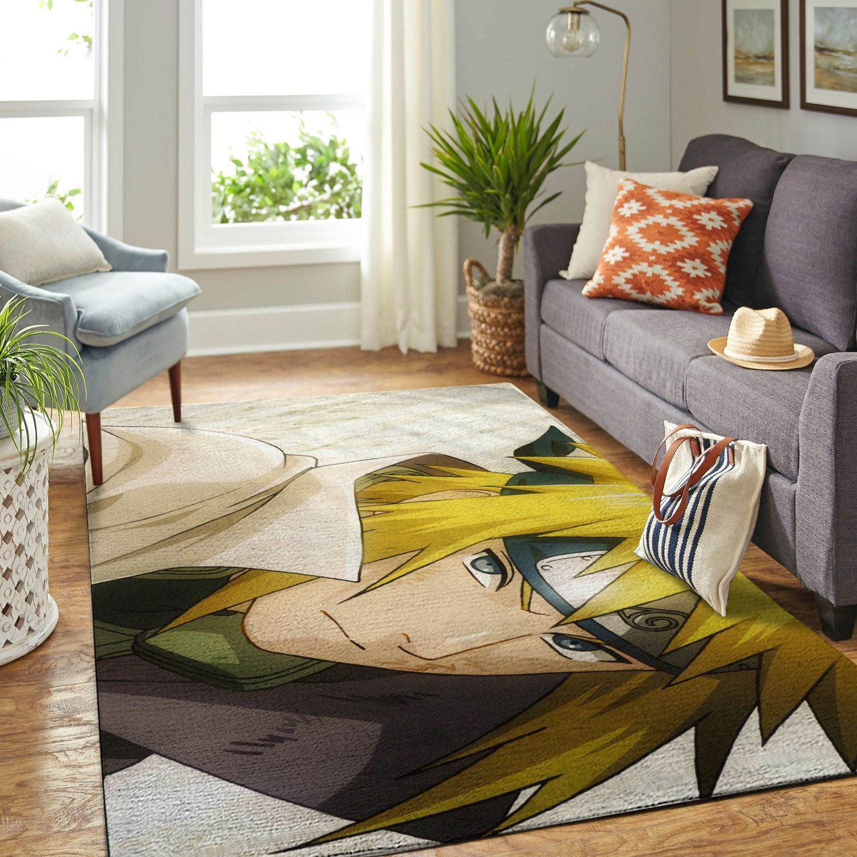 Amazon Naruto Themed Living Room Area No6392 Rug