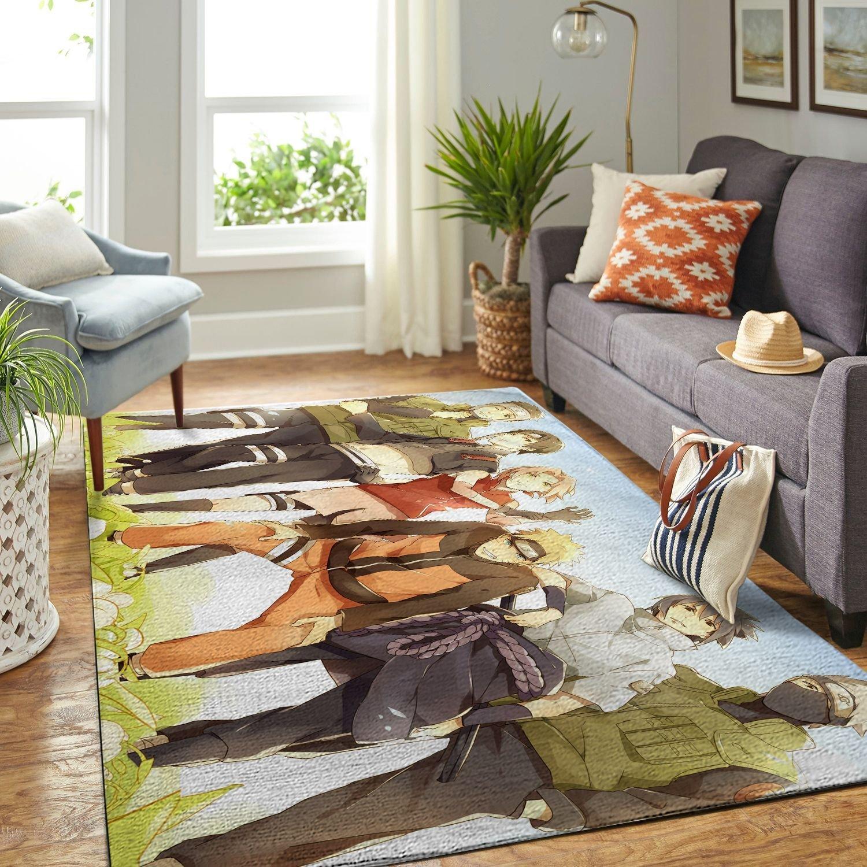 Amazon Naruto Themed Living Room Area No6394 Rug