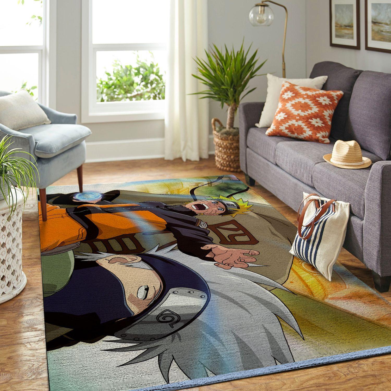 Amazon Naruto Themed Living Room Area No6395 Rug