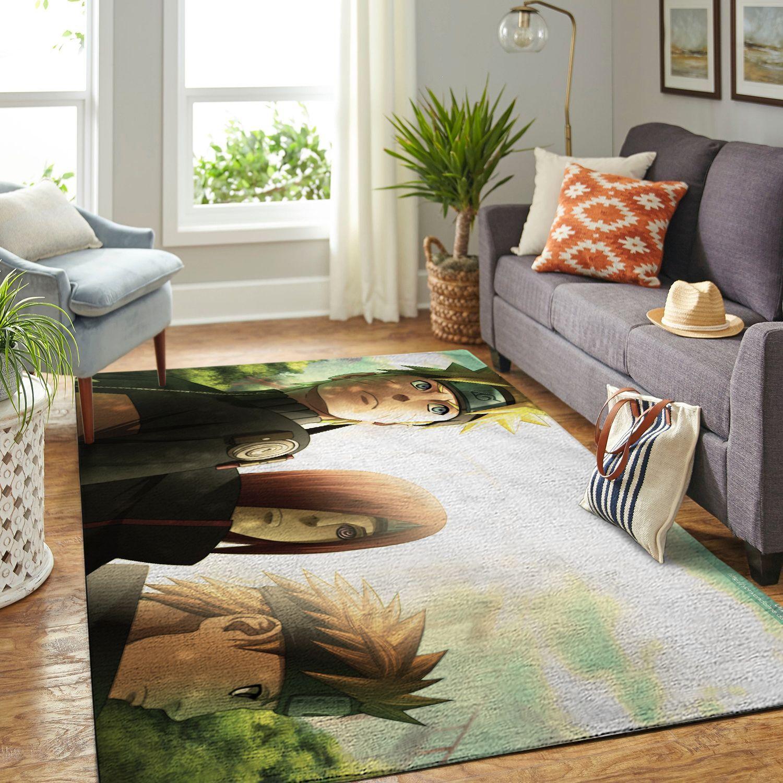Amazon Naruto Themed Living Room Area No6396 Rug