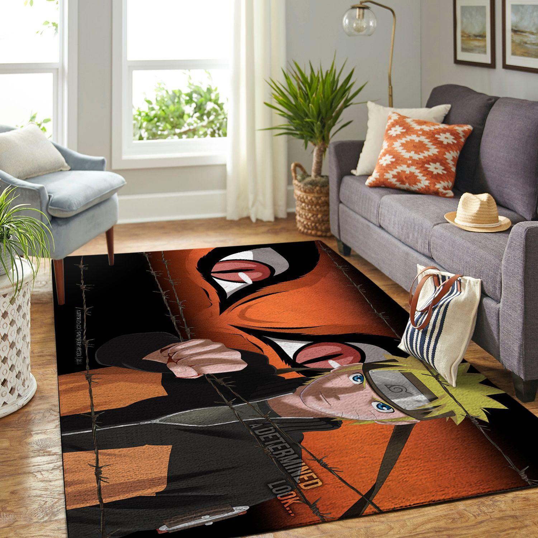 Amazon Naruto Themed Living Room Area No6399 Rug