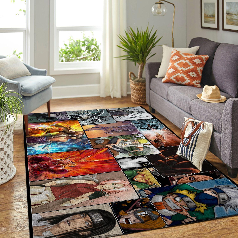 Amazon Naruto Themed Living Room Area No6401 Rug