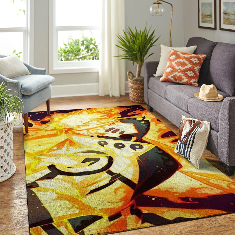 Amazon Naruto Themed Living Room Area No6405 Rug