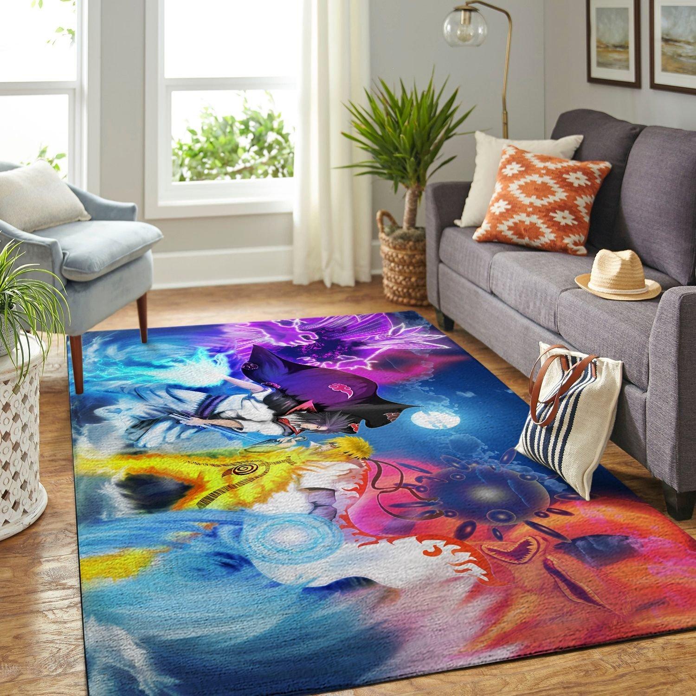 Amazon Naruto Themed Living Room Area No6406 Rug