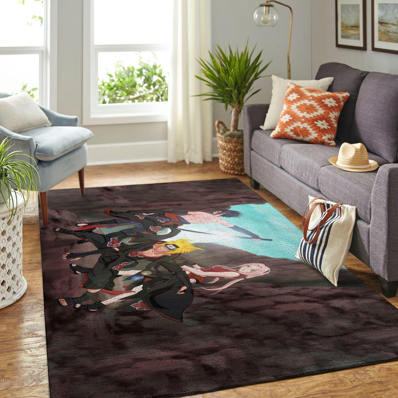 Amazon Naruto Themed Living Room Area No6407 Rug
