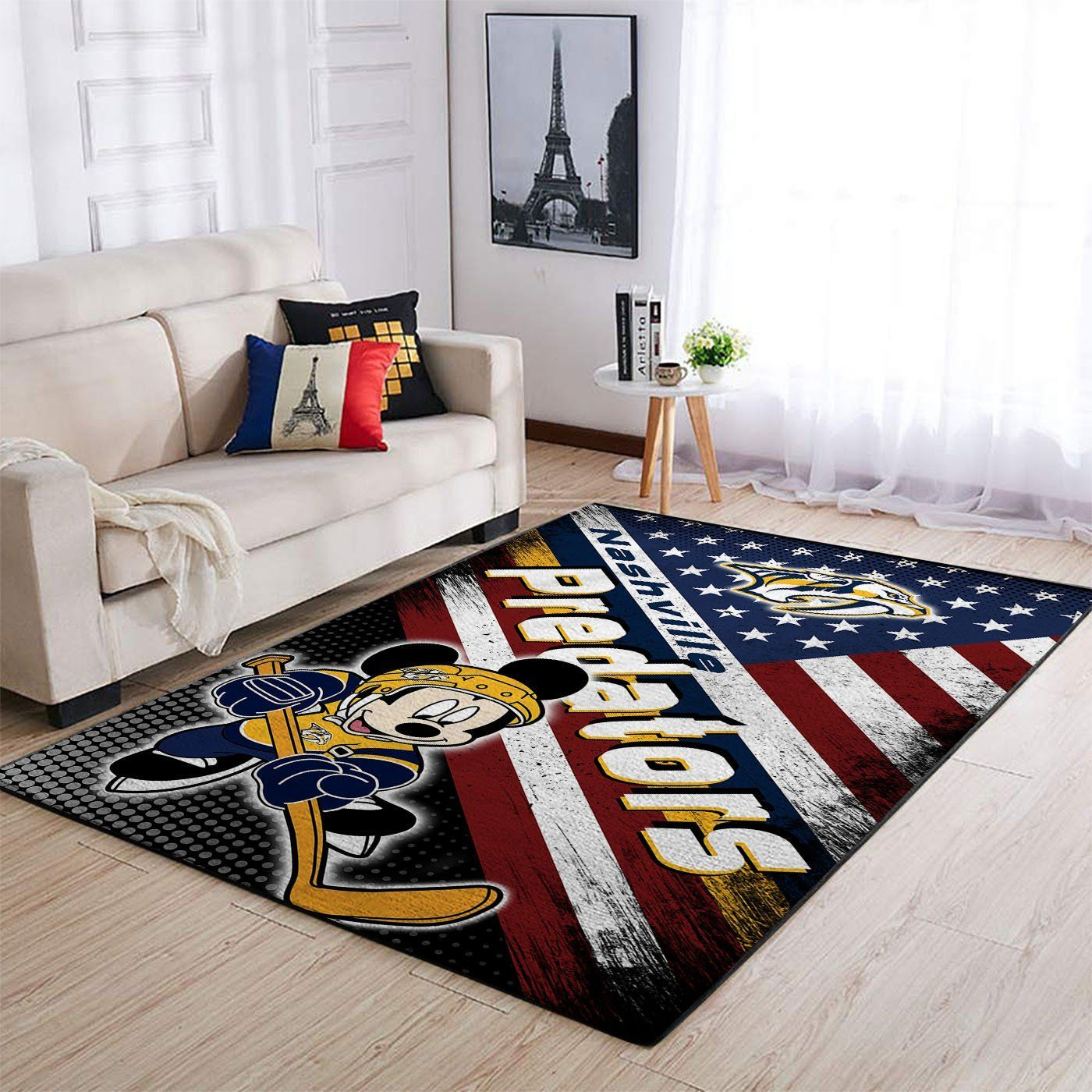 Amazon Nashville Predators Living Room Area No4005 Rug
