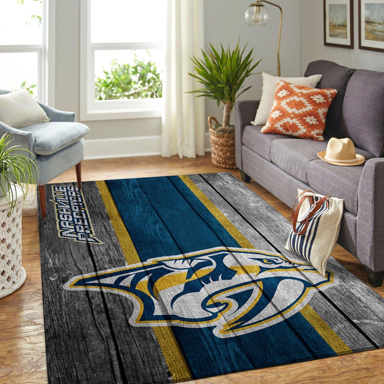 Amazon Nashville Predators Living Room Area No4009 Rug