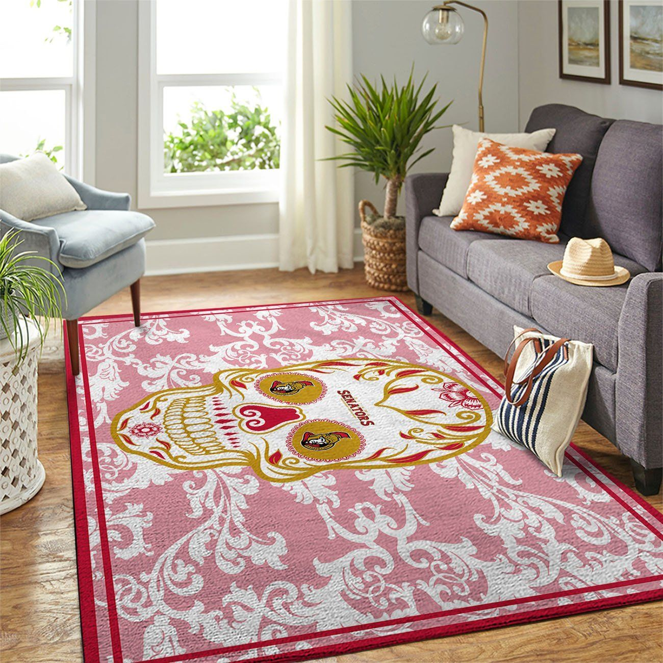 Amazon Ottawa Senators Living Room Area No4446 Rug