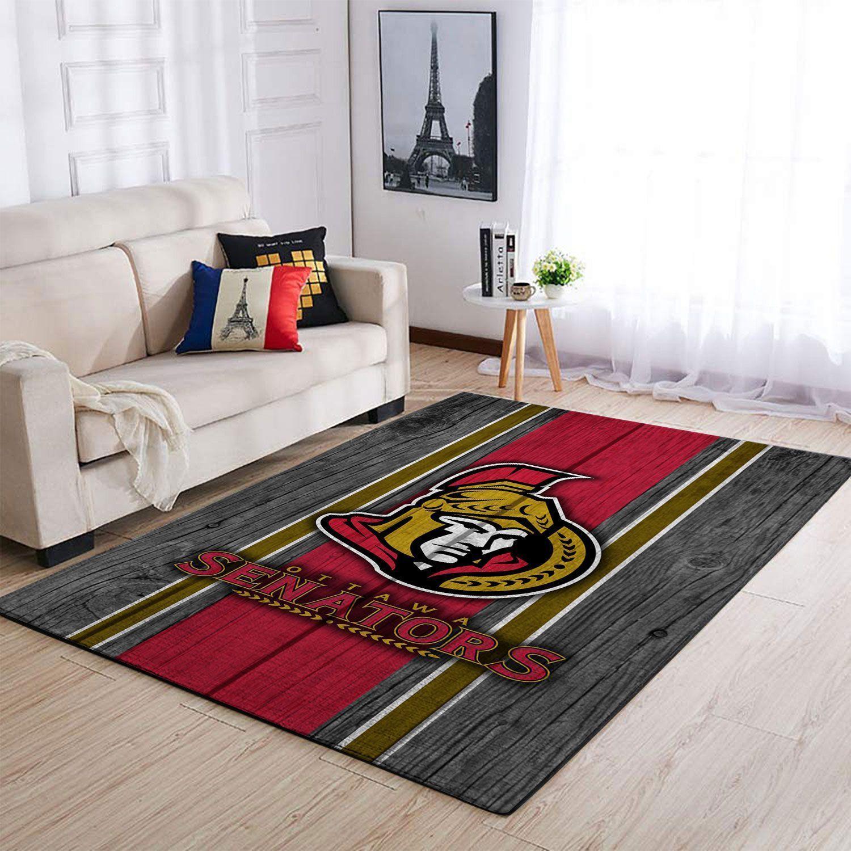 Amazon Ottawa Senators Living Room Area No4447 Rug