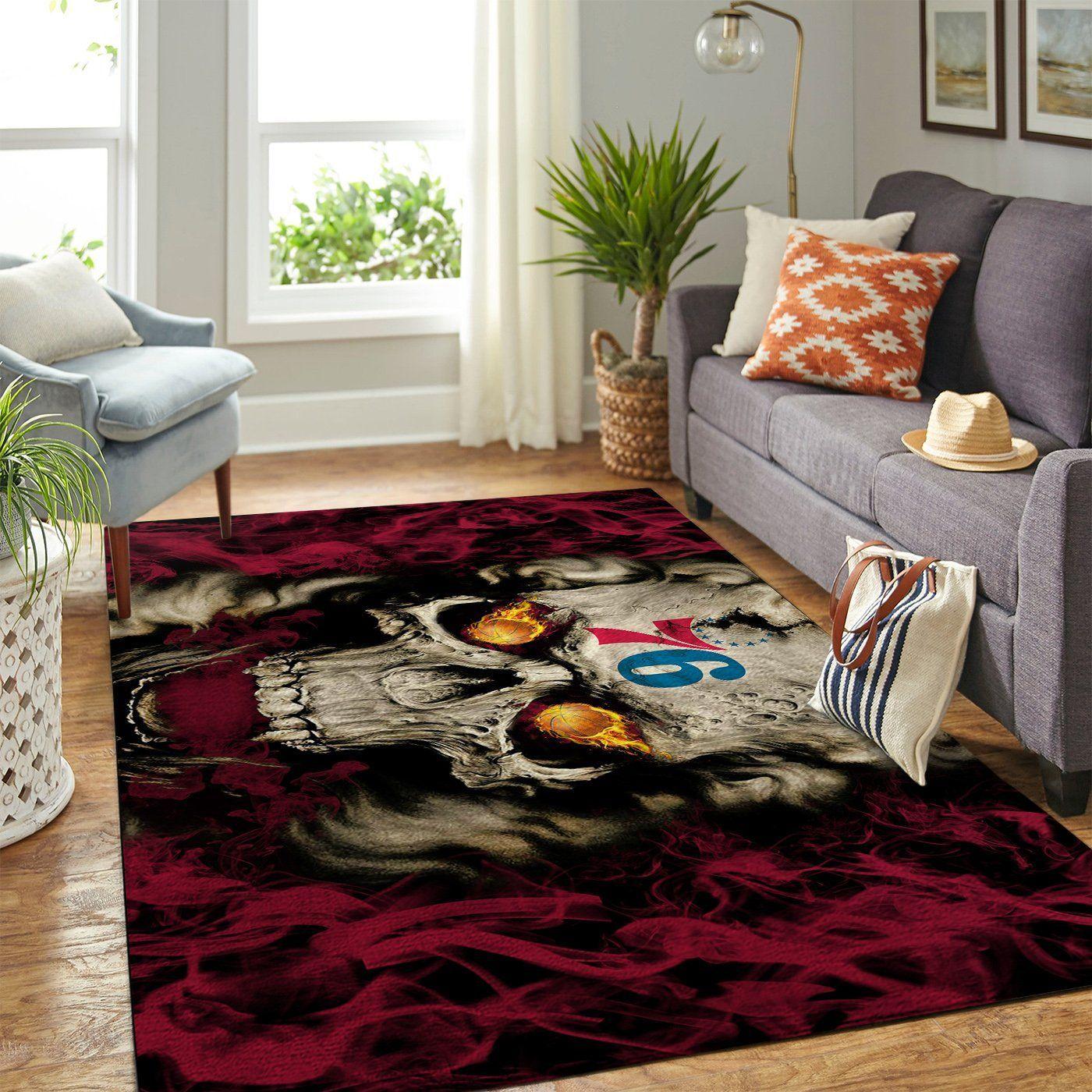 Amazon Philadelphia 76ers Living Room Area No4456 Rug