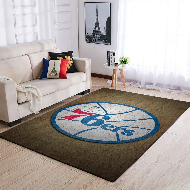 Amazon Philadelphia 76ers Living Room Area No4468 Rug