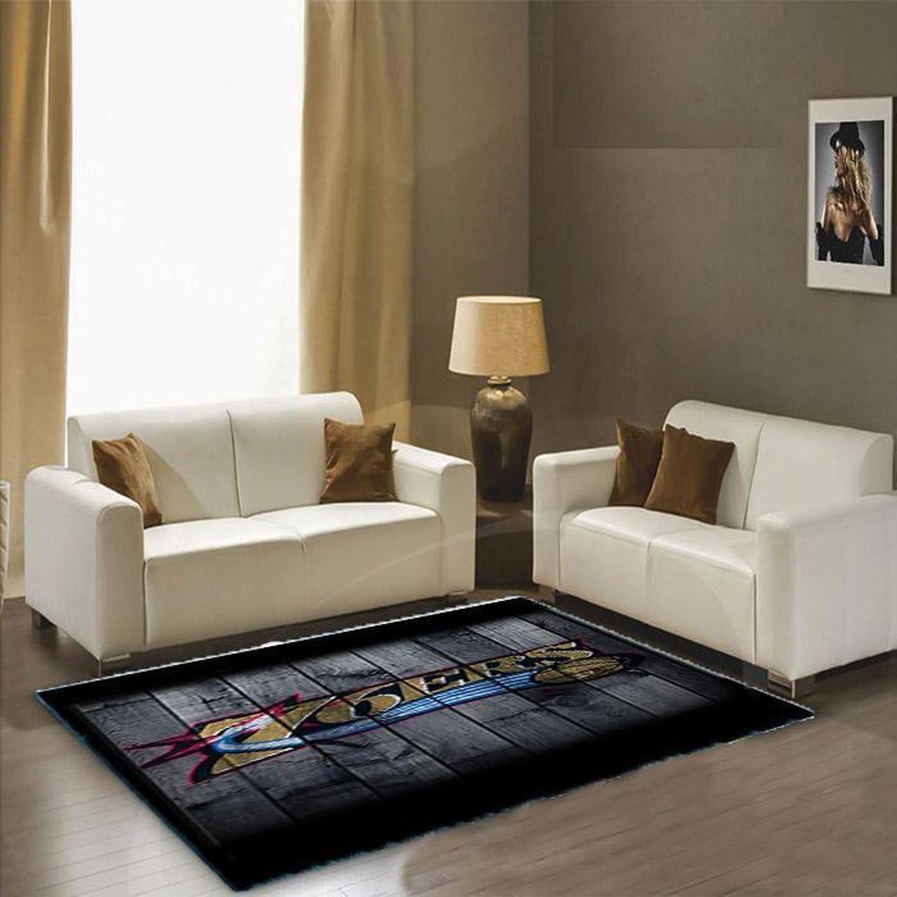 Amazon Philadelphia 76ers Living Room Area No4469 Rug