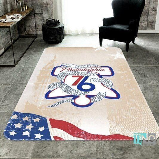 Amazon Philadelphia 76ers Living Room Area No4471 Rug