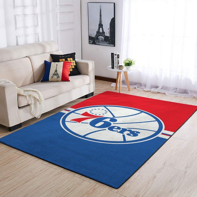 Amazon Philadelphia 76ers Living Room Area No4472 Rug