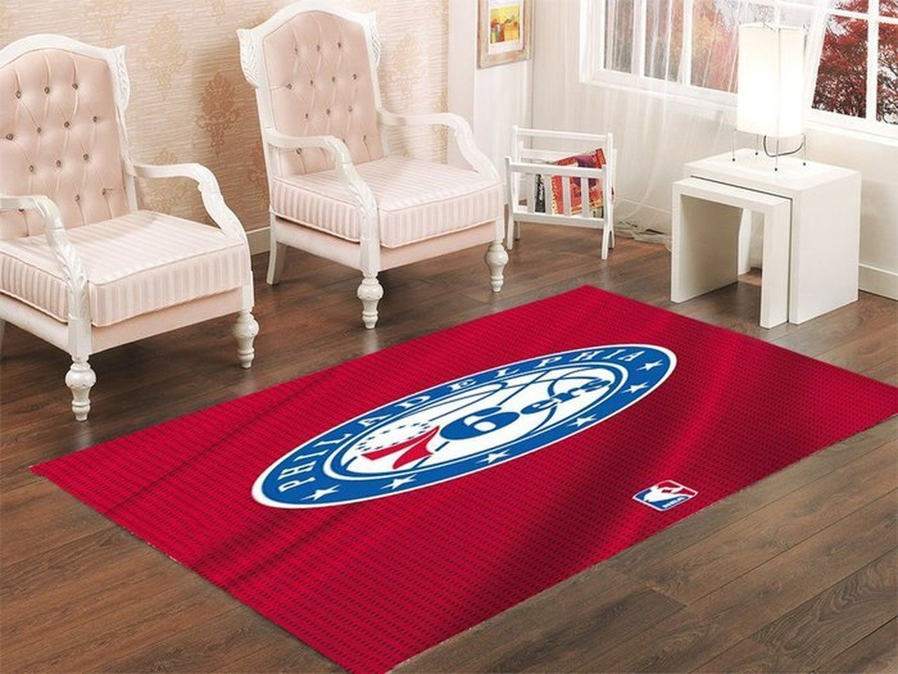 Amazon Philadelphia 76ers Living Room Area No4476 Rug