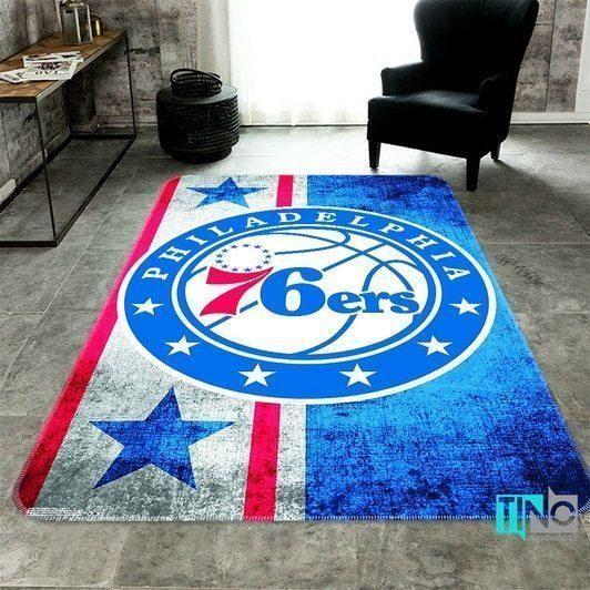 Amazon Philadelphia 76ers Living Room Area No4480 Rug