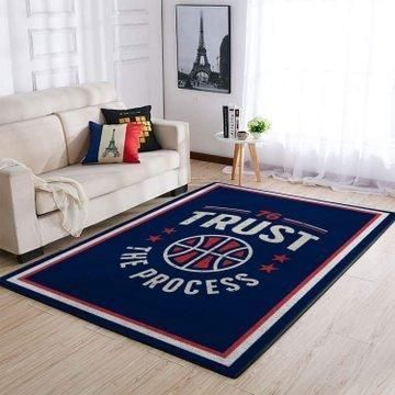 Amazon Philadelphia 76ers Living Room Area No4481 Rug