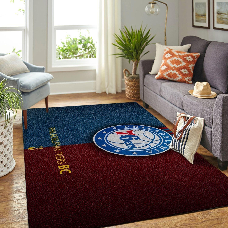 Amazon Philadelphia 76ers Living Room Area No4490 Rug