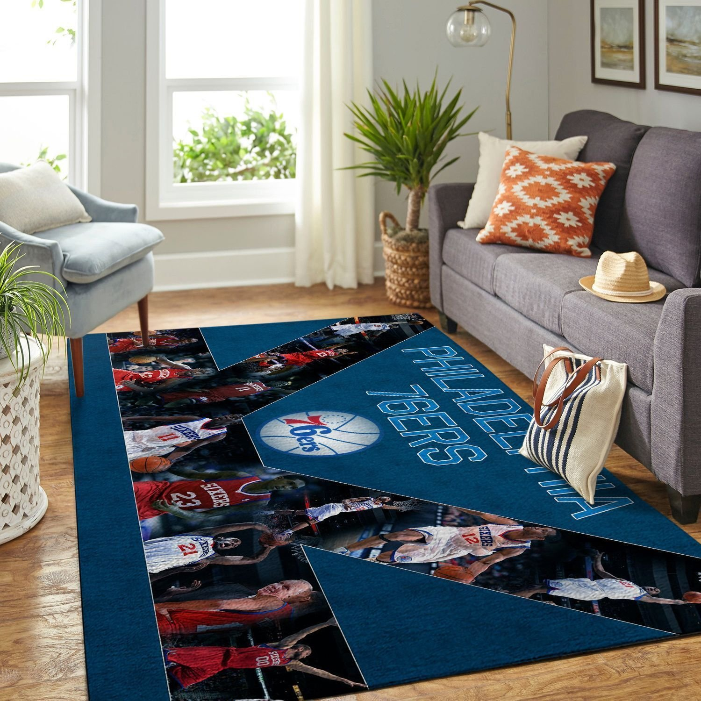 Amazon Philadelphia 76ers Living Room Area No4494 Rug