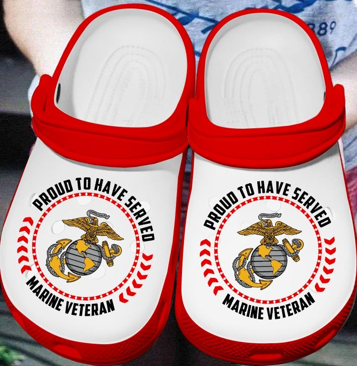 Amazon Proud To Have Served Marine Veteran Crocs Clog Shoes