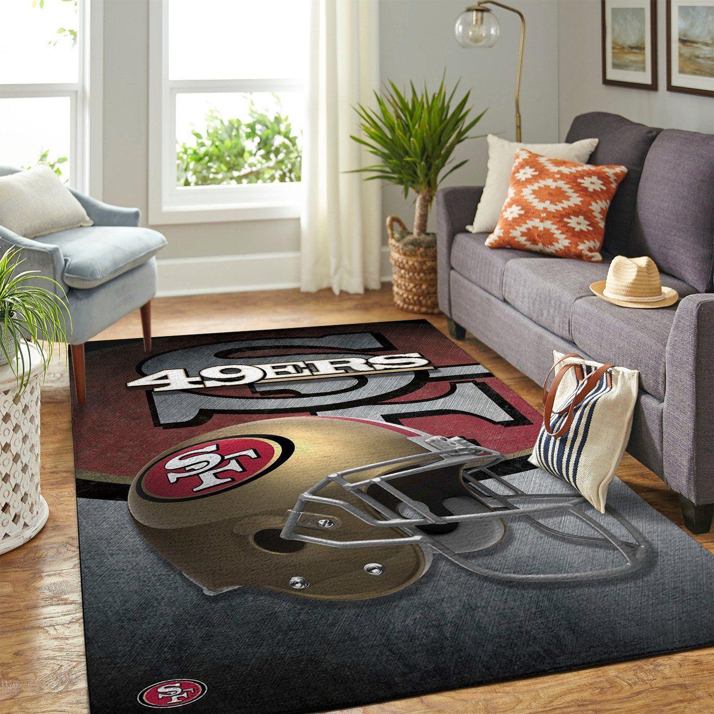 Amazon San Francisco 49ers Living Room Area No4858 Rug