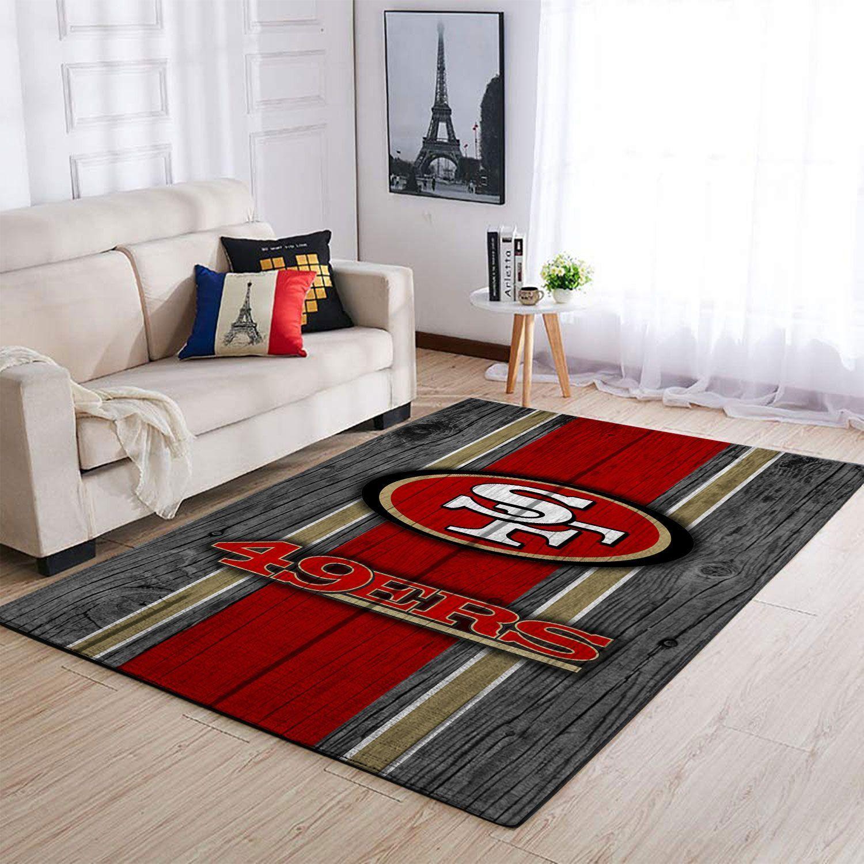 Amazon San Francisco 49ers Living Room Area No4865 Rug