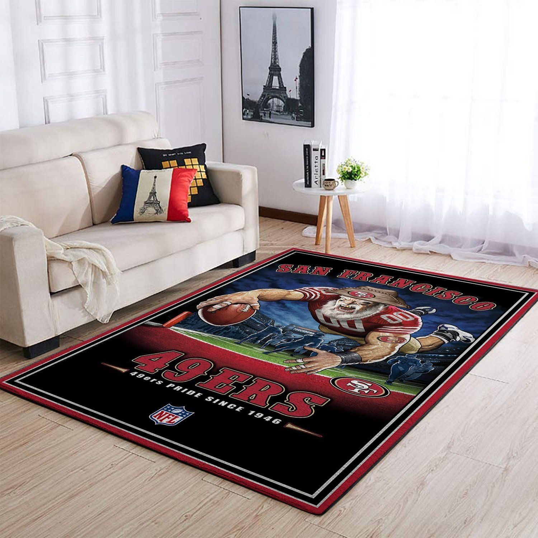 Amazon San Francisco 49ers Living Room Area No4867 Rug
