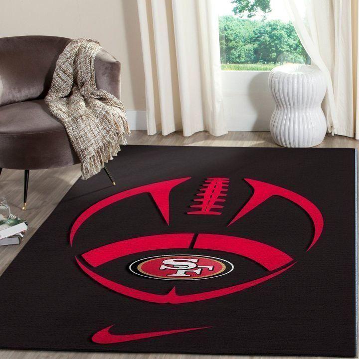 Amazon San Francisco 49ers Living Room Area No4869 Rug