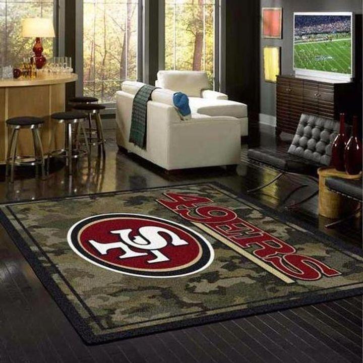 Amazon San Francisco 49ers Living Room Area No4870 Rug