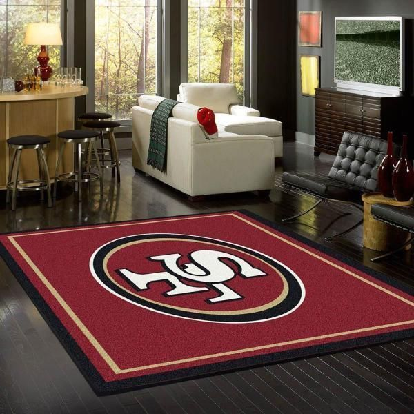Amazon San Francisco 49ers Living Room Area No4871 Rug
