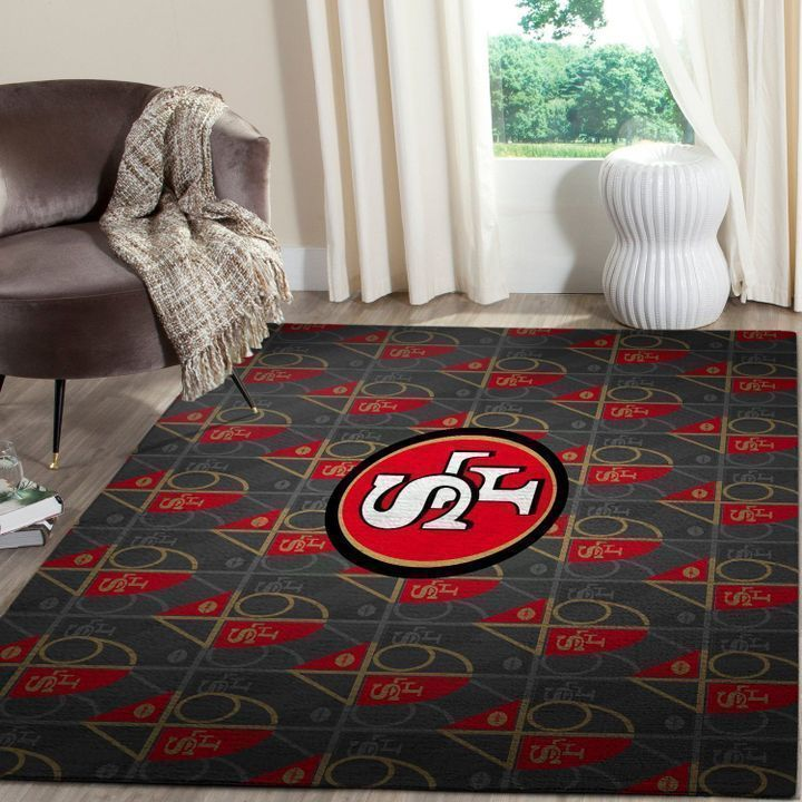 Amazon San Francisco 49ers Living Room Area No4873 Rug