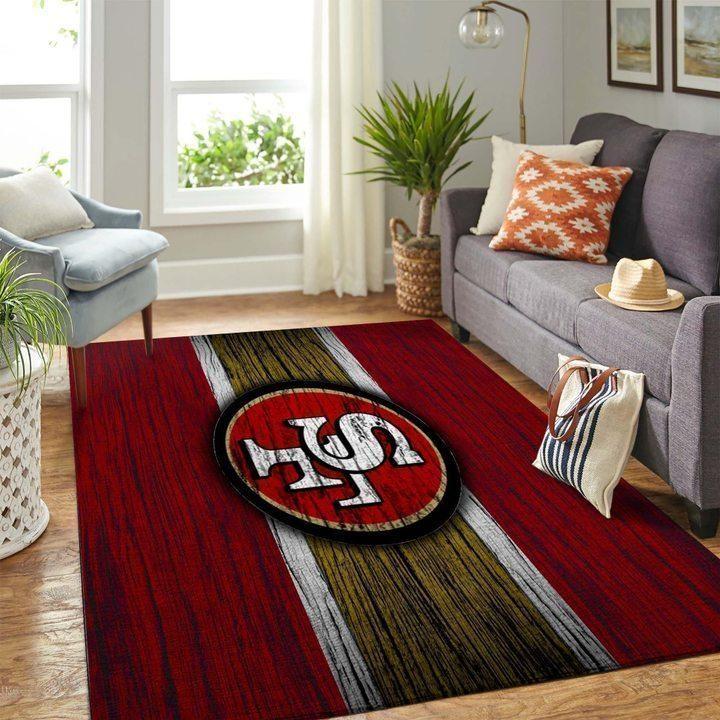 Amazon San Francisco 49ers Living Room Area No4874 Rug