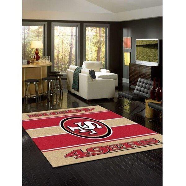 Amazon San Francisco 49ers Living Room Area No4877 Rug