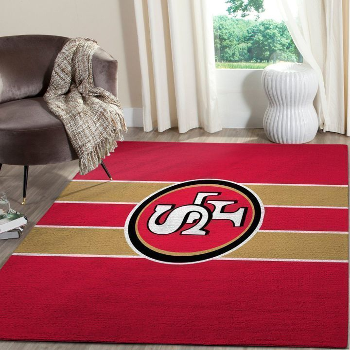 Amazon San Francisco 49ers Living Room Area No4878 Rug