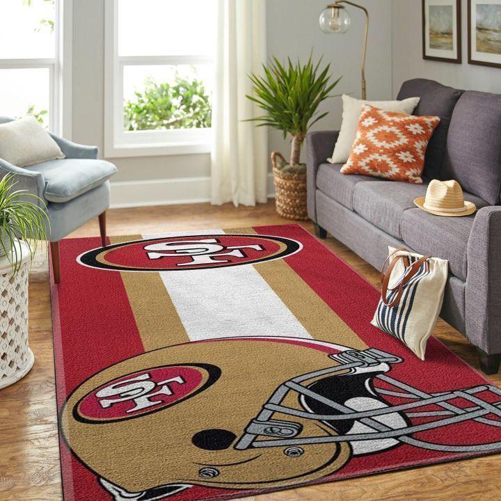 Amazon San Francisco 49ers Living Room Area No4879 Rug