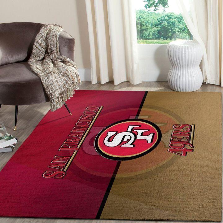 Amazon San Francisco 49ers Living Room Area No4880 Rug