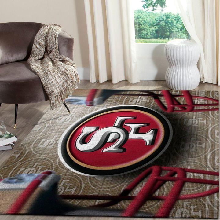 Amazon San Francisco 49ers Living Room Area No4881 Rug