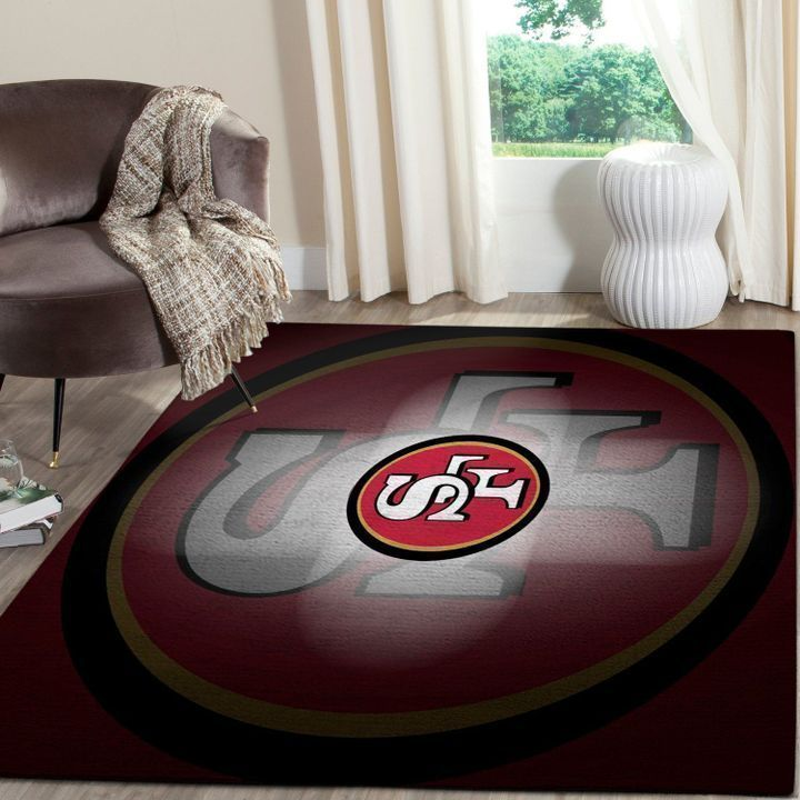 Amazon San Francisco 49ers Living Room Area No4882 Rug