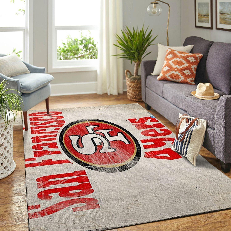 Amazon San Francisco 49ers Living Room Area No4883 Rug
